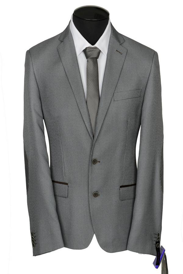 Пиджак ABSOLUTEXПиджаки<br><br><br>Размер RU: 50/176<br>Пол: Мужской<br>Возраст: Взрослый<br>Материал: полиэстер 20%, шерсть 30%, вискоза 50%<br>Цвет: Серый