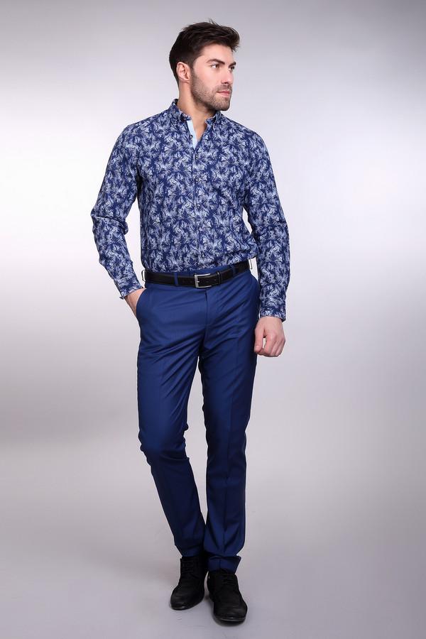 Классические брюки ABSOLUTEXКлассические брюки<br><br><br>Размер RU: 52/182<br>Пол: Мужской<br>Возраст: Взрослый<br>Материал: полиэстер 35%, вискоза 55%, хлопок 10%<br>Цвет: Синий
