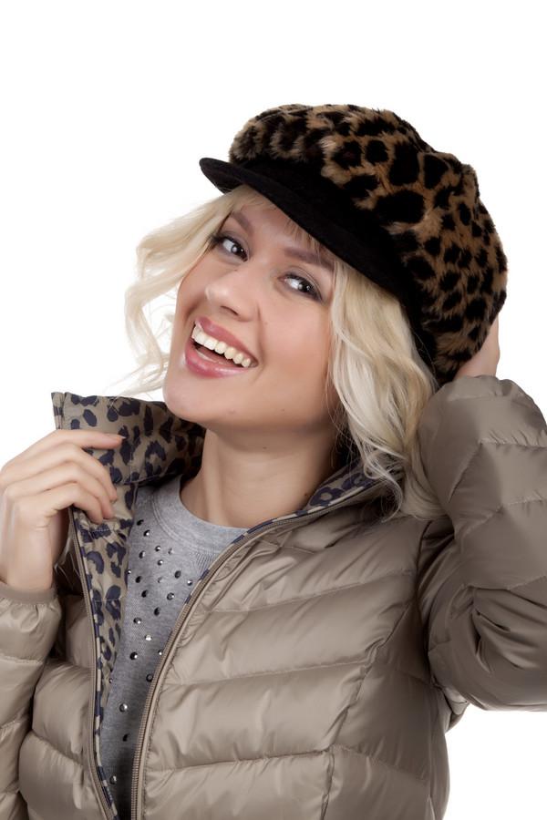 Кепка WegenerКепки<br>Модная кепка Wegener леопардовой расцветки . Изделие классического фасона подходит к любому типу лица. Модель выполнена из высококачественного материала приятного на ощупь. Подкладка текстиль.<br><br>Размер RU: 57<br>Пол: Женский<br>Возраст: Взрослый<br>Материал: полиэстер 25%, полиамид 56%, модакрил 19%<br>Цвет: Разноцветный