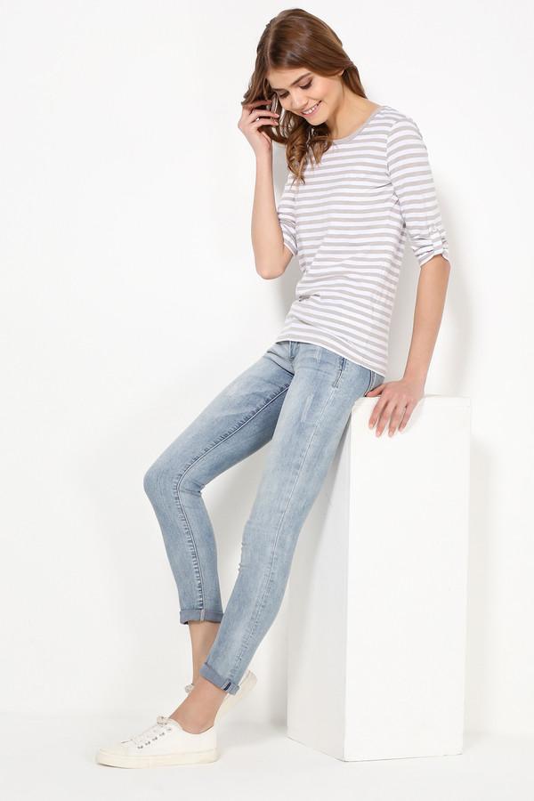 Футболка FINN FLAREФутболки<br>Полосатые топы летом уже стали классическим выбором. Дело все в том, что такая модель – компромисс между комфортом и стилем. Чуть приталенная и с регулируемыми рукавами, эта фуфайка будет гармонично смотреться с джинсами, брюками, юбками и шортами в стиле casual. Выполнена из качественного и износостойкого хлопка.<br><br>Размер RU: 46<br>Пол: Женский<br>Возраст: Взрослый<br>Материал: хлопок 100%<br>Цвет: Разноцветный