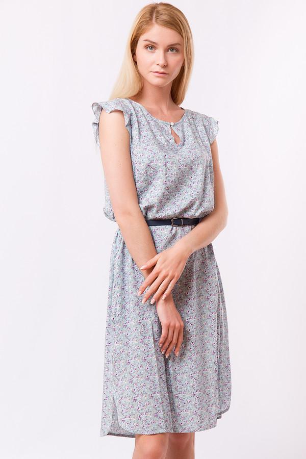 Платье FINN FLAREПлатья<br><br><br>Размер RU: 48<br>Пол: Женский<br>Возраст: Взрослый<br>Материал: вискоза 100%<br>Цвет: Серый