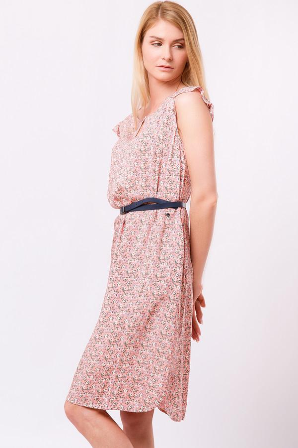 Платье FINN FLAREПлатья<br><br><br>Размер RU: 52<br>Пол: Женский<br>Возраст: Взрослый<br>Материал: вискоза 100%<br>Цвет: Розовый
