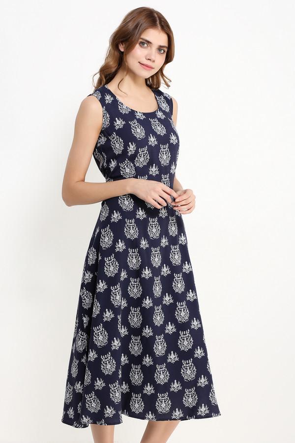 Платье FINN FLAREПлатья<br><br><br>Размер RU: 48<br>Пол: Женский<br>Возраст: Взрослый<br>Материал: вискоза 100%<br>Цвет: Разноцветный