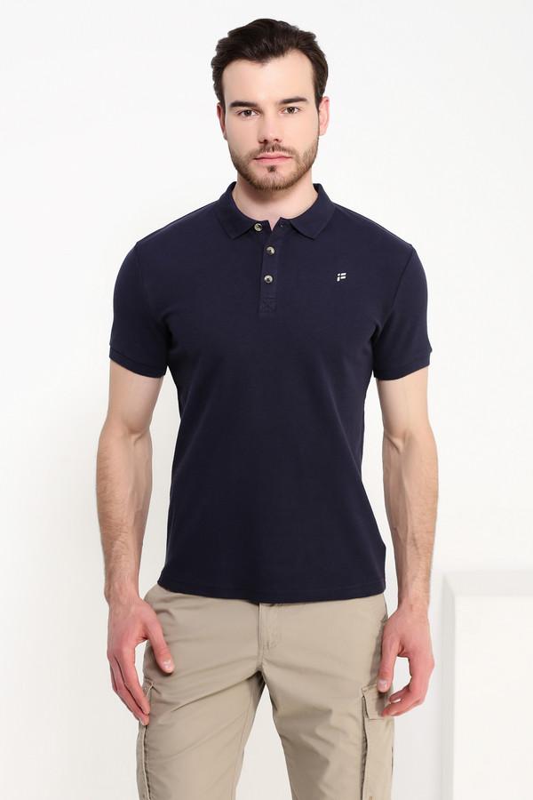 Мужские рубашки с коротким рукавом FINN FLAREКороткий рукав<br><br><br>Размер RU: 54<br>Пол: Мужской<br>Возраст: Взрослый<br>Материал: хлопок 100%<br>Цвет: Синий