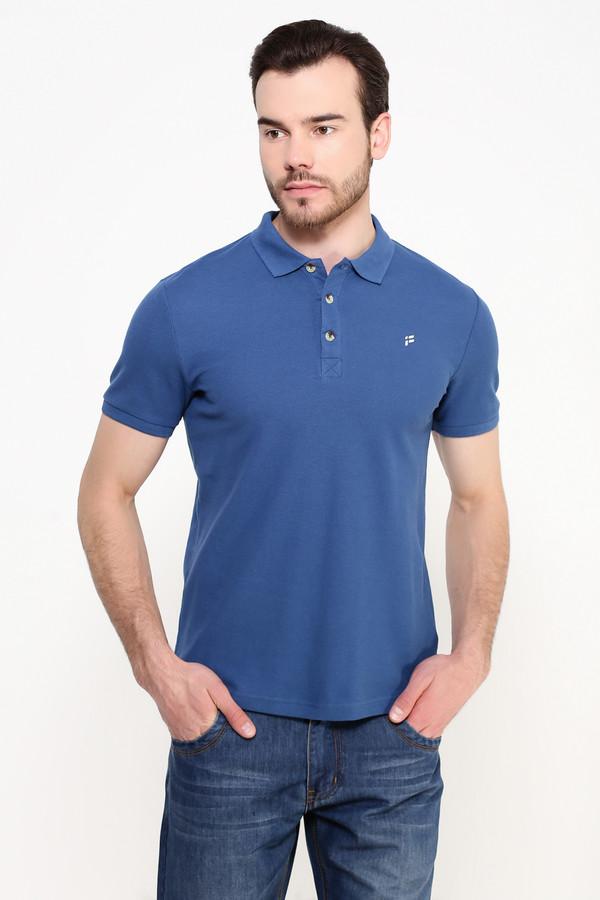 Мужские рубашки с коротким рукавом FINN FLAREКороткий рукав<br><br><br>Размер RU: 48<br>Пол: Мужской<br>Возраст: Взрослый<br>Материал: хлопок 100%<br>Цвет: Синий