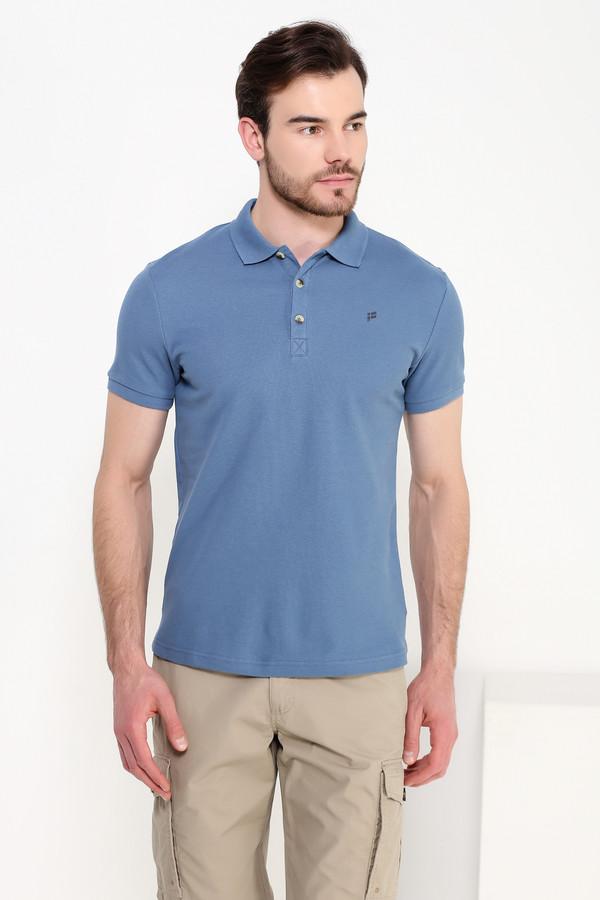 Мужские рубашки с коротким рукавом FINN FLAREКороткий рукав<br><br><br>Размер RU: 52<br>Пол: Мужской<br>Возраст: Взрослый<br>Материал: хлопок 100%<br>Цвет: Голубой
