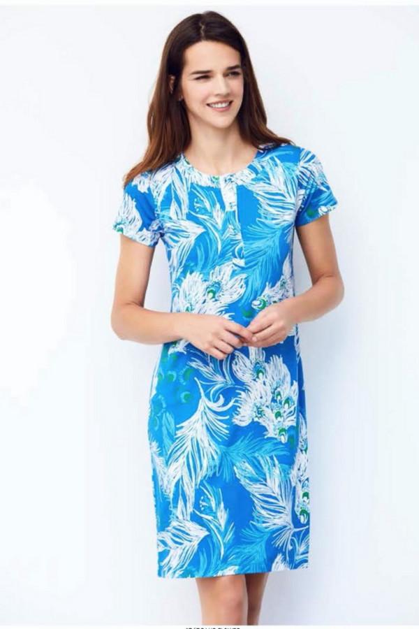 Платье CATHERINESПлатья<br><br><br>Размер RU: 48<br>Пол: Женский<br>Возраст: Взрослый<br>Материал: эластан 6%, вискоза 94%<br>Цвет: Голубой