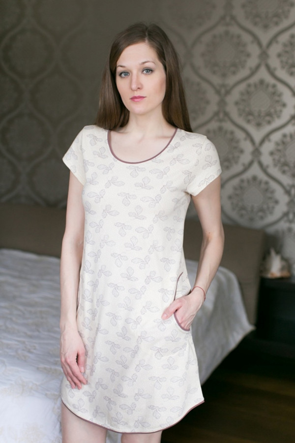 Платье MARUSЯПлатья<br><br><br>Размер RU: 44<br>Пол: Женский<br>Возраст: Взрослый<br>Материал: эластан 8%, хлопок 92%<br>Цвет: Разноцветный