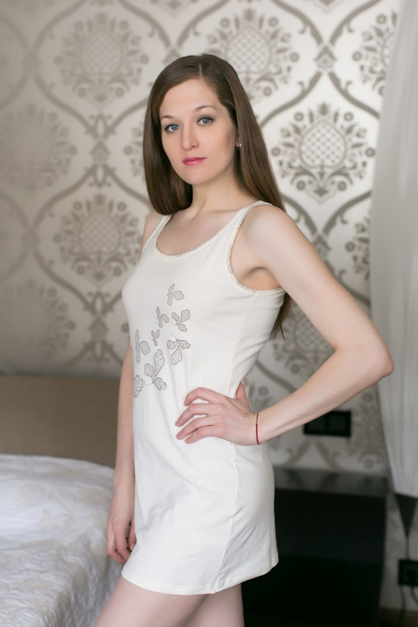 Платье MARUSЯПлатья<br><br><br>Размер RU: 48<br>Пол: Женский<br>Возраст: Взрослый<br>Материал: эластан 8%, хлопок 92%<br>Цвет: Белый
