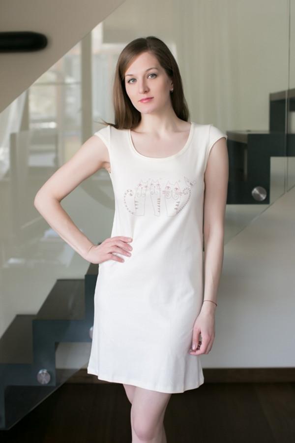 Платье MARUSЯПлатья<br><br><br>Размер RU: 48<br>Пол: Женский<br>Возраст: Взрослый<br>Материал: хлопок 100%<br>Цвет: Белый