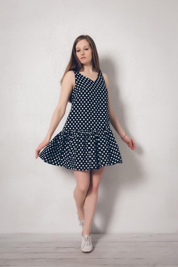 Платье MARUSЯПлатья<br><br><br>Размер RU: 46<br>Пол: Женский<br>Возраст: Взрослый<br>Материал: вискоза 100%<br>Цвет: Чёрный