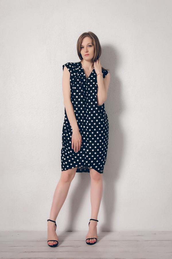 Платье MARUSЯПлатья<br><br><br>Размер RU: 46<br>Пол: Женский<br>Возраст: Взрослый<br>Материал: лен 100%<br>Цвет: Чёрный