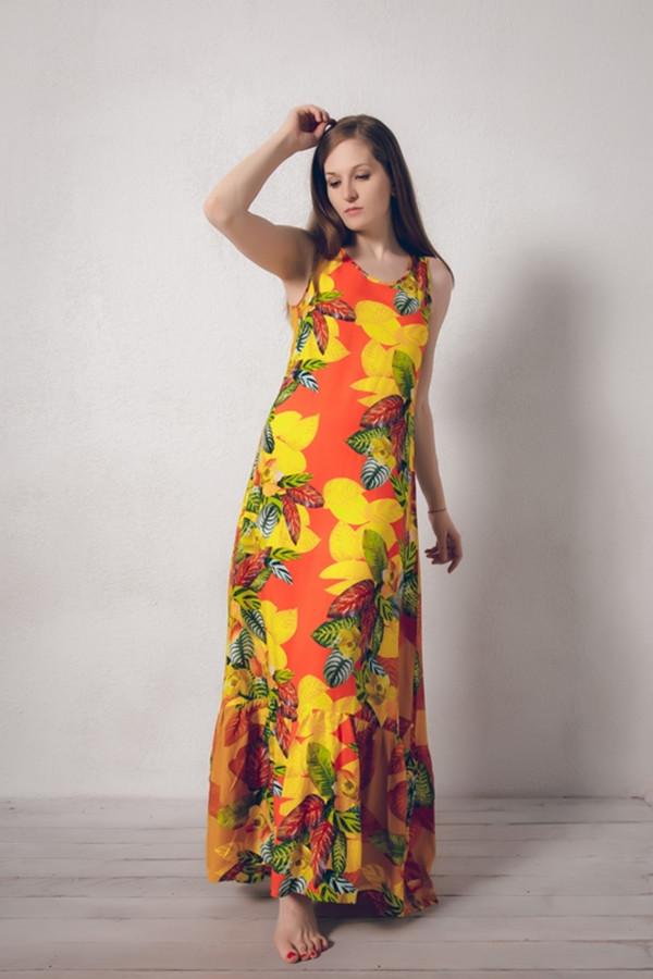 Платье MARUSЯПлатья<br><br><br>Размер RU: 44<br>Пол: Женский<br>Возраст: Взрослый<br>Материал: вискоза 100%<br>Цвет: Разноцветный