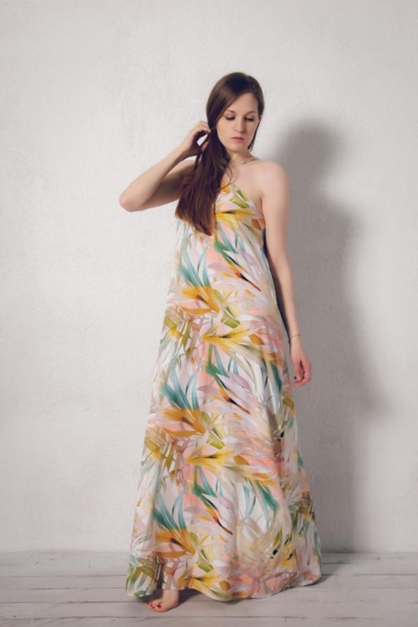Платье MARUSЯПлатья<br><br><br>Размер RU: 46<br>Пол: Женский<br>Возраст: Взрослый<br>Материал: вискоза 100%<br>Цвет: Разноцветный
