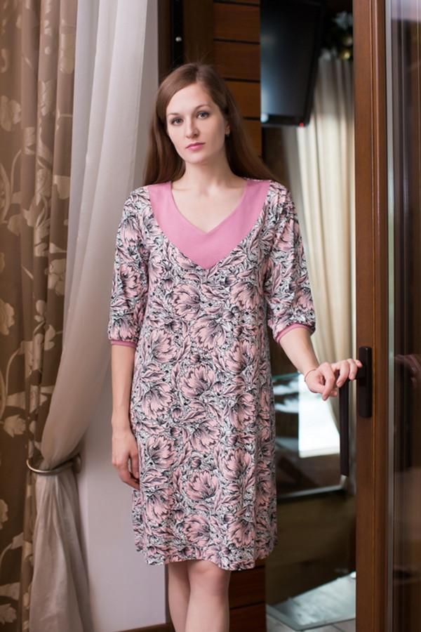 Платье MARUSЯПлатья<br><br><br>Размер RU: 56<br>Пол: Женский<br>Возраст: Взрослый<br>Материал: вискоза 100%<br>Цвет: Розовый