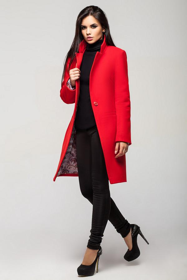 Пальто Leo PrideПальто<br><br><br>Размер RU: 48<br>Пол: Женский<br>Возраст: Взрослый<br>Материал: хлопок 40%, шерсть 40%, акрил 20%<br>Цвет: Красный