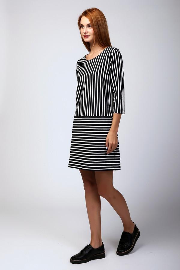 Платье Penny Black GreyПлатья<br><br><br>Размер RU: 44-46<br>Пол: Женский<br>Возраст: Взрослый<br>Материал: эластан 5%, хлопок 65%, полиэстер 30%<br>Цвет: Разноцветный