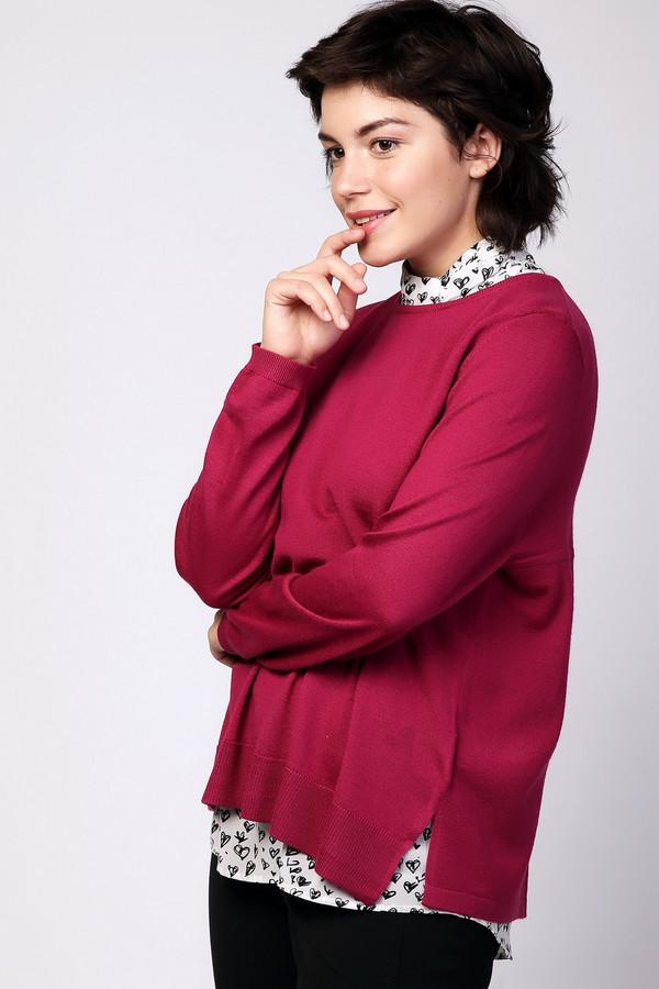 Пуловер PezzoПуловеры<br><br><br>Размер RU: 52<br>Пол: Женский<br>Возраст: Взрослый<br>Материал: шерсть 50%, полиакрил 50%<br>Цвет: Розовый