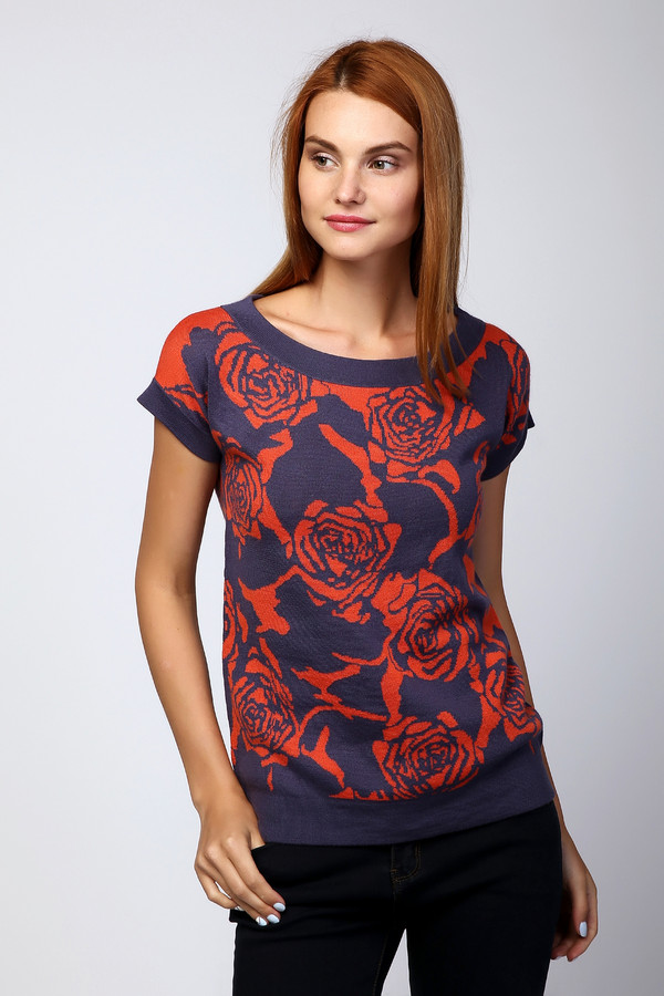 Пуловер Just ValeriПуловеры<br><br><br>Размер RU: 48<br>Пол: Женский<br>Возраст: Взрослый<br>Материал: шерсть 50%, акрил 50%<br>Цвет: Разноцветный