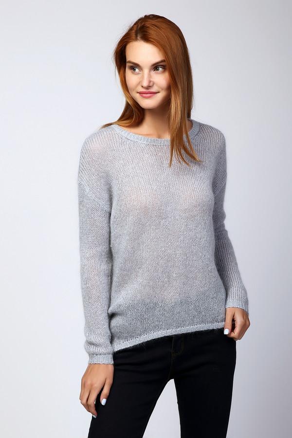Пуловер PezzoПуловеры<br><br><br>Размер RU: 44<br>Пол: Женский<br>Возраст: Взрослый<br>Материал: полиэстер 13%, нейлон 24%, мохер 40%, шерсть 16%, металл 7%<br>Цвет: Серый