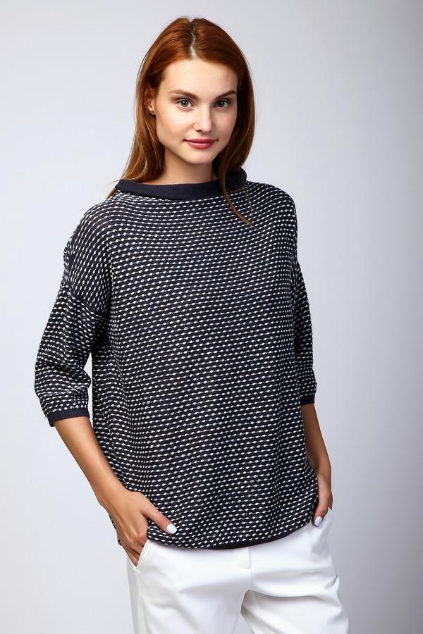 Пуловер PezzoПуловеры<br><br><br>Размер RU: 44<br>Пол: Женский<br>Возраст: Взрослый<br>Материал: шерсть 41%, хлопок 18%, полиакрил 41%<br>Цвет: Синий