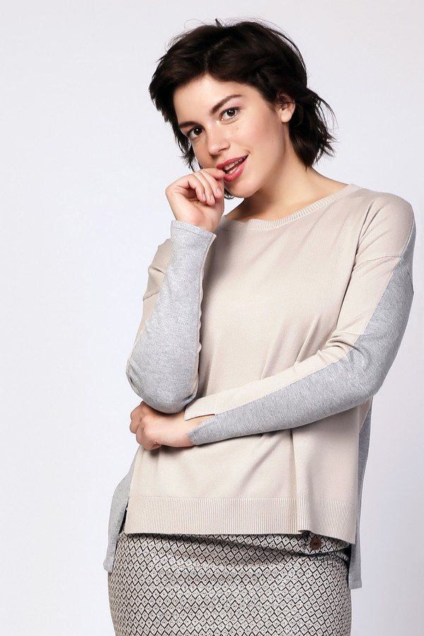Пуловер PezzoПуловеры<br><br><br>Размер RU: 48<br>Пол: Женский<br>Возраст: Взрослый<br>Материал: вискоза 80%, нейлон 20%<br>Цвет: Разноцветный