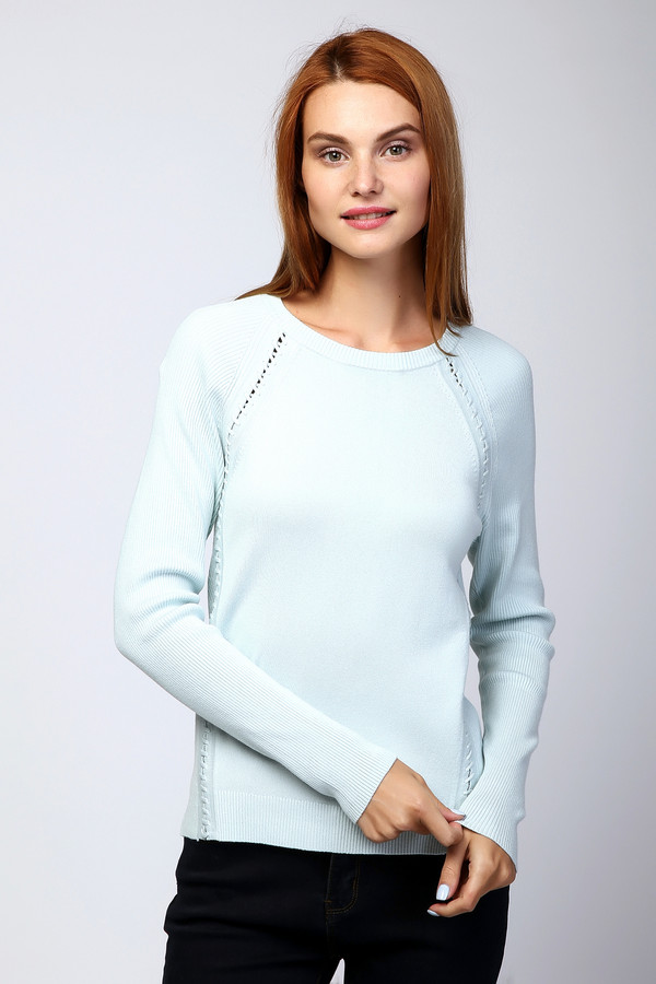 Пуловер PezzoПуловеры<br><br><br>Размер RU: 42<br>Пол: Женский<br>Возраст: Взрослый<br>Материал: вискоза 80%, нейлон 20%<br>Цвет: Голубой