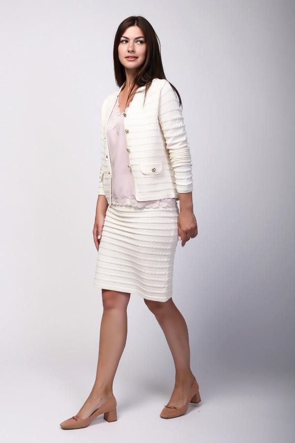 женская юбка just valeri, белая