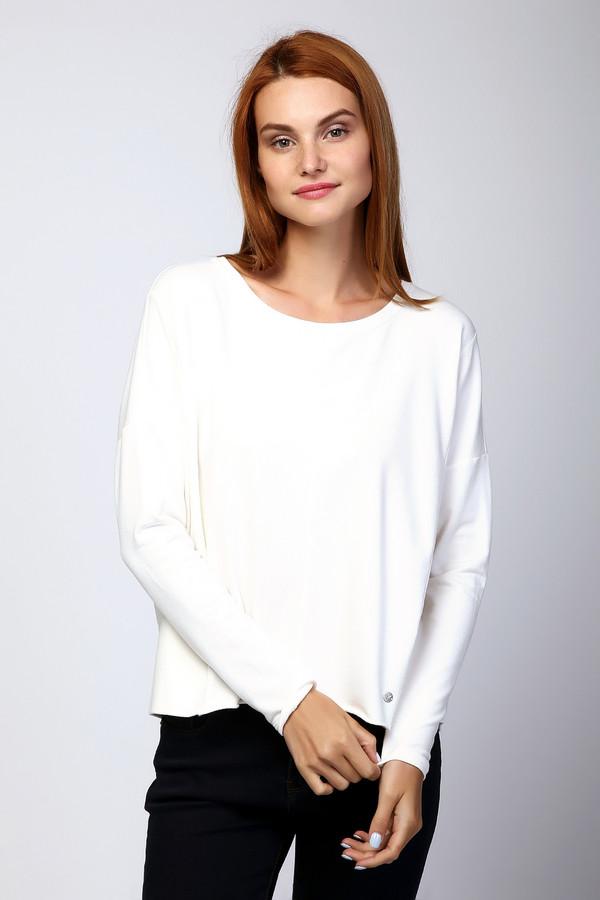 Пуловер MonariПуловеры<br><br><br>Размер RU: 40-42<br>Пол: Женский<br>Возраст: Взрослый<br>Материал: эластан 10%, хлопок 60%, модал 30%<br>Цвет: Белый
