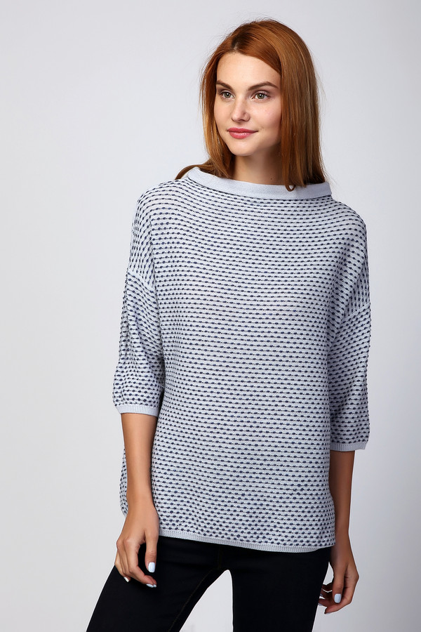 Пуловер PezzoПуловеры<br><br><br>Размер RU: 48<br>Пол: Женский<br>Возраст: Взрослый<br>Материал: шерсть 41%, хлопок 18%, полиакрил 41%<br>Цвет: Разноцветный