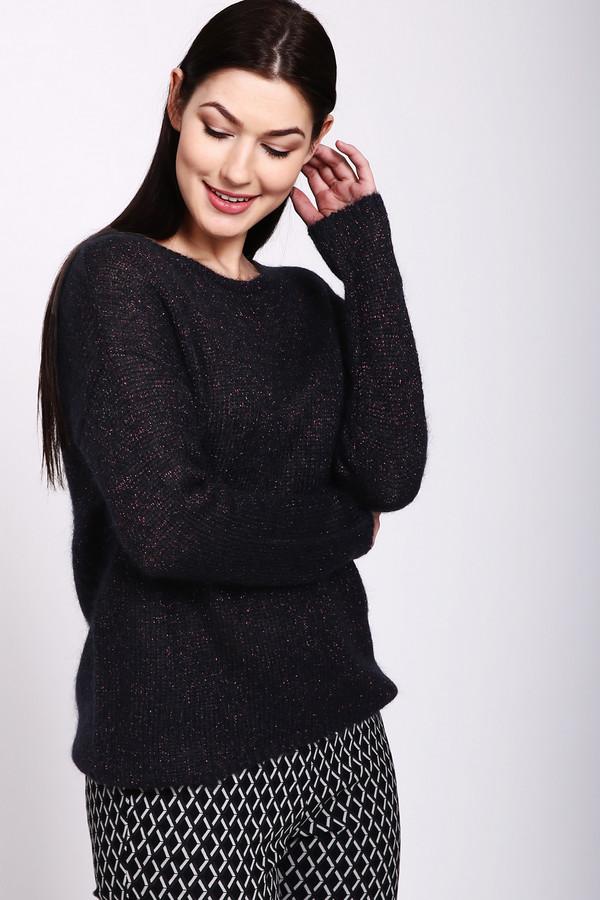 Купить Пуловер Pezzo, Китай, Чёрный, полиэстер 13%, нейлон 24%, мохер 40%, шерсть 16%, металл 7%