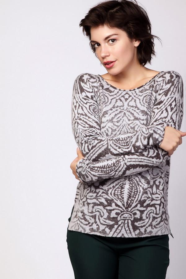 Пуловер PezzoПуловеры<br><br><br>Размер RU: 46<br>Пол: Женский<br>Возраст: Взрослый<br>Материал: полиамид 20%, полиэстер 30%, шерсть 5%, ангора 5%, район 40%<br>Цвет: Разноцветный