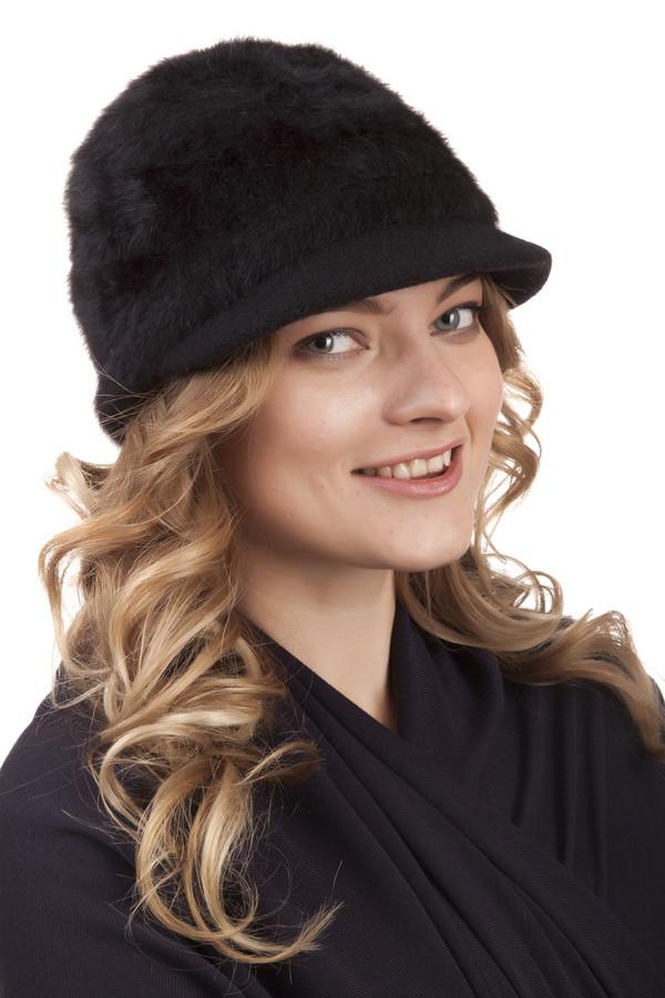 Кепка SeebergerКепки<br>Стильная кепка от бренда от бренда Seeberger черного цвета. Данная модель была выполнена из эластана, шерсти и полиамида. Изделие предназначено для зимней холодной погоды. Основа изделия оформлена материалом визуально имитирующим теплый мех. Такая зимняя кепка — теплое и в тоже время стильное решение.<br><br>Размер RU: один размер<br>Пол: Женский<br>Возраст: Взрослый<br>Материал: эластан 2%, шерсть 80%, полиамид 18%<br>Цвет: Чёрный