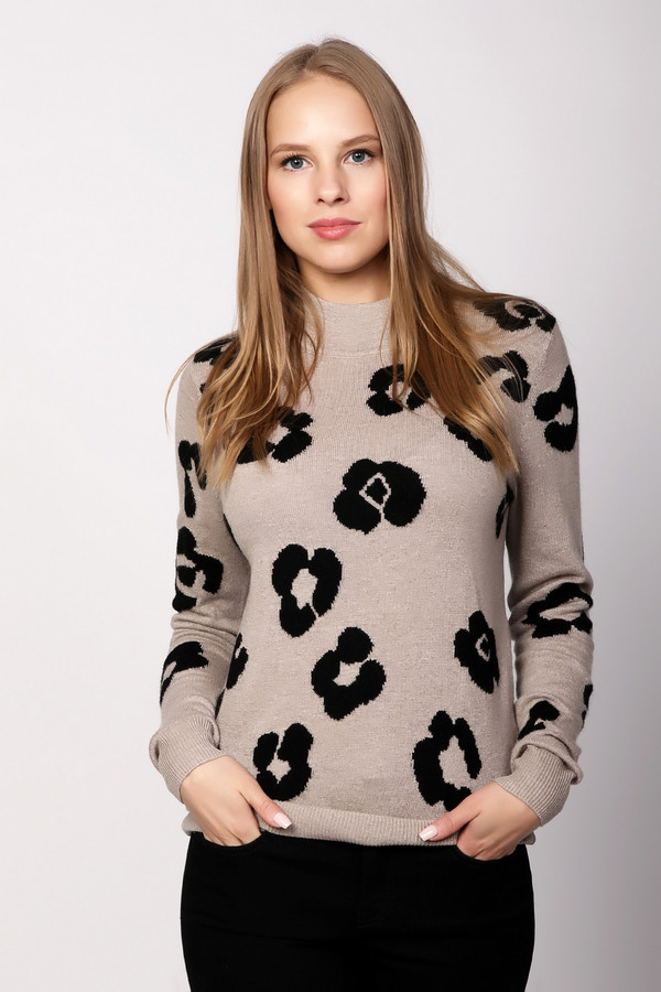 Пуловер PezzoПуловеры<br><br><br>Размер RU: 50<br>Пол: Женский<br>Возраст: Взрослый<br>Материал: вискоза 33%, полиамид 23%, шерсть 20%, хлопок 20%, кашемир 4%<br>Цвет: Бежевый
