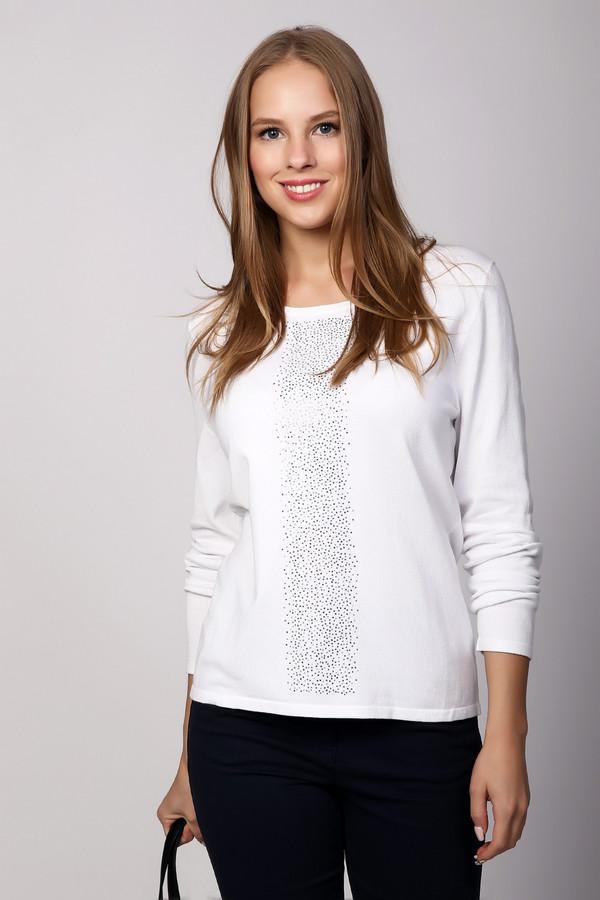 Пуловер PezzoПуловеры<br><br><br>Размер RU: 46<br>Пол: Женский<br>Возраст: Взрослый<br>Материал: полиамид 32%, вискоза 68%<br>Цвет: Белый