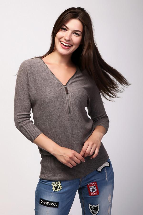 Пуловер PezzoПуловеры<br><br><br>Размер RU: 48<br>Пол: Женский<br>Возраст: Взрослый<br>Материал: вискоза 33%, полиамид 23%, шерсть 20%, хлопок 20%, кашемир 4%<br>Цвет: Бежевый