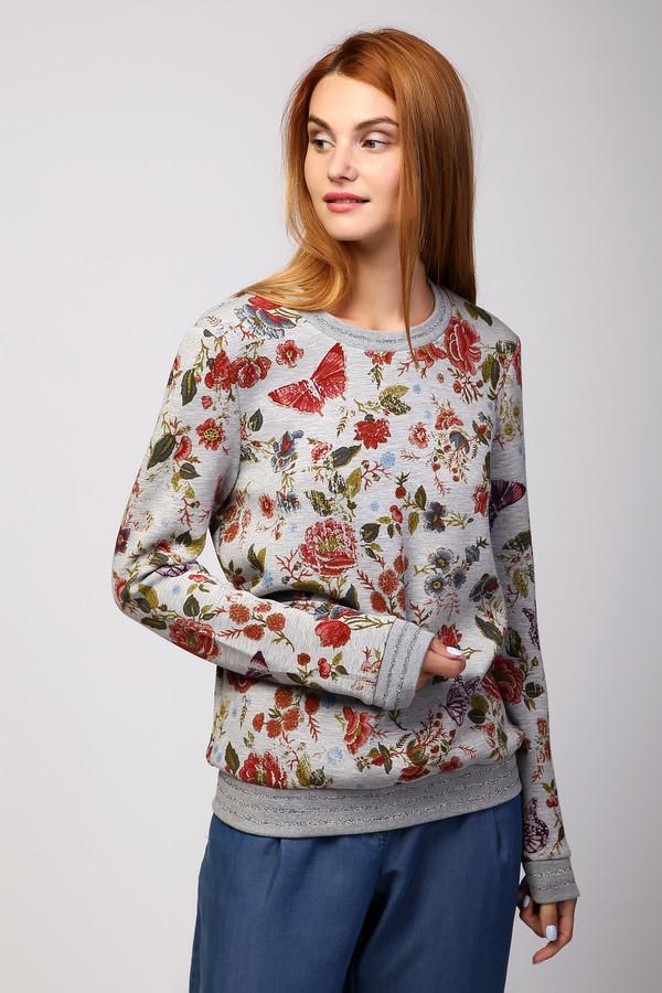 Пуловер OuiПуловеры<br><br><br>Размер RU: 46<br>Пол: Женский<br>Возраст: Взрослый<br>Материал: эластан 6%, полиэстер 70%, вискоза 24%<br>Цвет: Разноцветный
