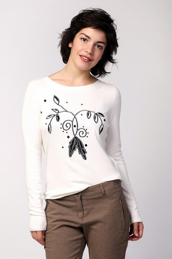 Пуловер PezzoПуловеры<br><br><br>Размер RU: 50<br>Пол: Женский<br>Возраст: Взрослый<br>Материал: полиамид 35%, вискоза 46%, шерсть 19%<br>Цвет: Белый