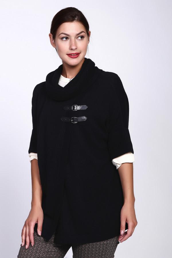 Пуловер PezzoПуловеры<br><br><br>Размер RU: 46<br>Пол: Женский<br>Возраст: Взрослый<br>Материал: вискоза 33%, полиамид 23%, шерсть 20%, хлопок 20%, кашемир 4%<br>Цвет: Чёрный