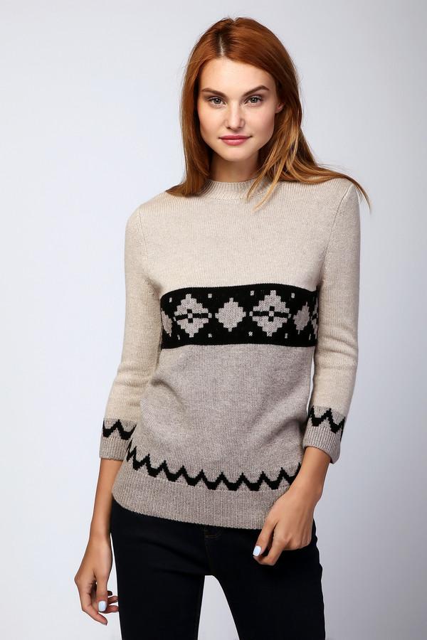 Пуловер Just ValeriПуловеры<br><br><br>Размер RU: 48<br>Пол: Женский<br>Возраст: Взрослый<br>Материал: шерсть 70%, кашемир 30%<br>Цвет: Бежевый