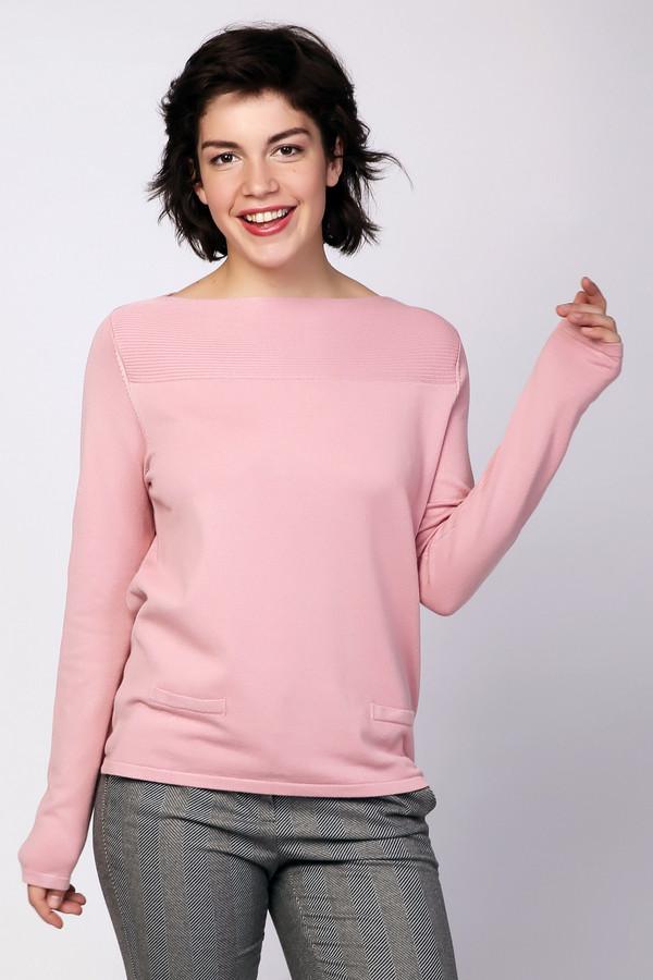 Пуловер PezzoПуловеры<br><br><br>Размер RU: 48<br>Пол: Женский<br>Возраст: Взрослый<br>Материал: полиамид 32%, вискоза 68%<br>Цвет: Розовый