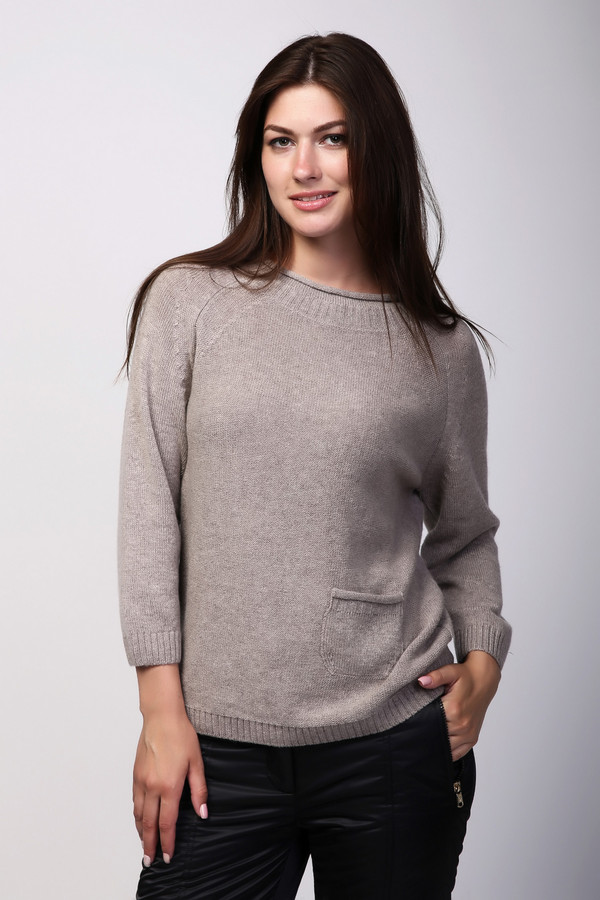 Пуловер Just ValeriПуловеры<br><br><br>Размер RU: 46<br>Пол: Женский<br>Возраст: Взрослый<br>Материал: шерсть 80%, кашемир 20%<br>Цвет: Бежевый