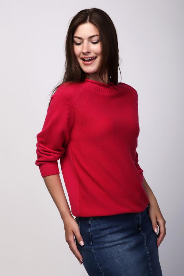 Пуловер Just ValeriПуловеры<br><br><br>Размер RU: 50<br>Пол: Женский<br>Возраст: Взрослый<br>Материал: шерсть 80%, кашемир 20%<br>Цвет: Красный