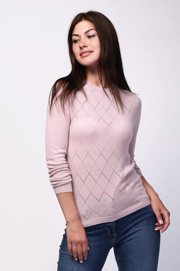 Пуловер Just ValeriПуловеры<br><br><br>Размер RU: 44<br>Пол: Женский<br>Возраст: Взрослый<br>Материал: шерсть 80%, кашемир 20%<br>Цвет: Розовый
