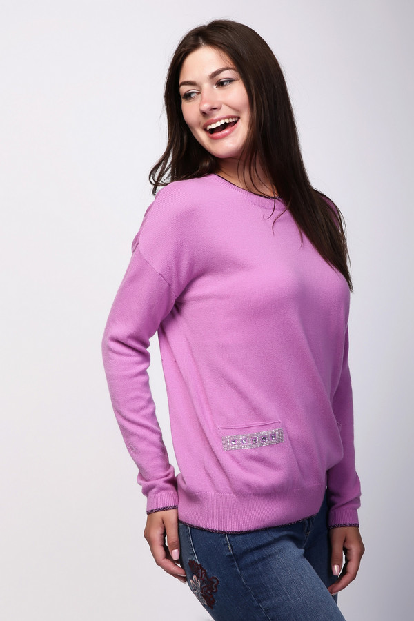 Пуловер PezzoПуловеры<br><br><br>Размер RU: 54<br>Пол: Женский<br>Возраст: Взрослый<br>Материал: вискоза 33%, полиамид 23%, шерсть 20%, хлопок 20%, кашемир 4%<br>Цвет: Розовый