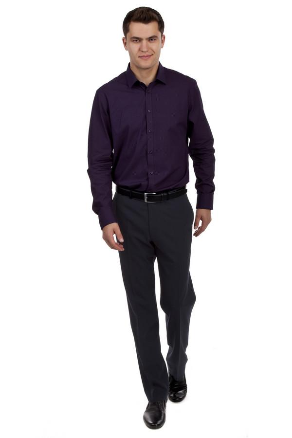 Классические брюки GardeurКлассические брюки<br>Классические черные брюки от бренда Gardeur прямого кроя выполнены из плотной костюмной ткани. Изделие дополнено: шлевками для ремня, стрелками, двумя боковыми карманами и двумя прорезными карманами сзади. Центральная часть застегивается на молнию и фиксируется на пуговицу.<br><br>Размер RU: 48L<br>Пол: Мужской<br>Возраст: Взрослый<br>Материал: полиэстер 36%, эластан 4%, шерсть 60%<br>Цвет: Синий