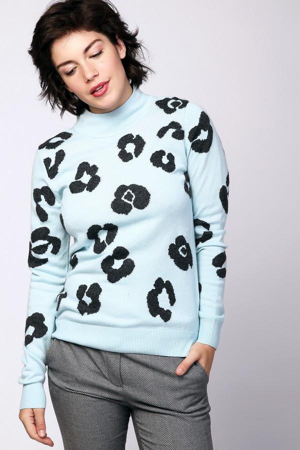 Пуловер PezzoПуловеры<br><br><br>Размер RU: 48<br>Пол: Женский<br>Возраст: Взрослый<br>Материал: вискоза 33%, полиамид 23%, шерсть 20%, хлопок 20%, кашемир 4%<br>Цвет: Голубой