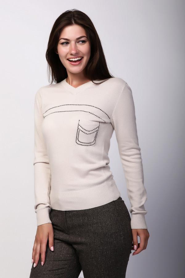 Пуловер PezzoПуловеры<br><br><br>Размер RU: 44<br>Пол: Женский<br>Возраст: Взрослый<br>Материал: вискоза 33%, полиамид 23%, шерсть 20%, хлопок 20%, кашемир 4%<br>Цвет: Бежевый