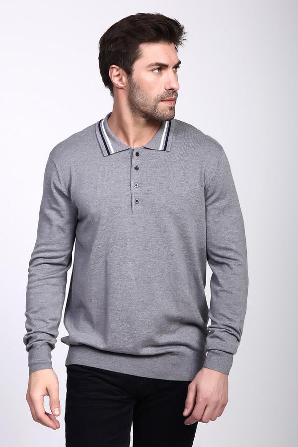 Джемпер PezzoДжемперы и Пуловеры<br><br><br>Размер RU: 54<br>Пол: Мужской<br>Возраст: Взрослый<br>Материал: полиамид 35%, вискоза 46%, шерсть 19%<br>Цвет: Серый