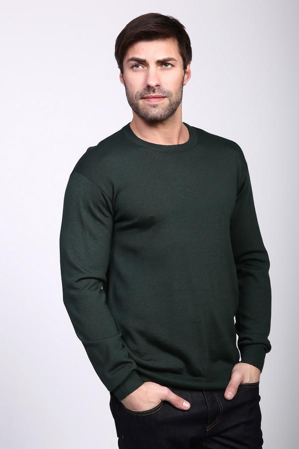 Джемпер PezzoДжемперы и Пуловеры<br><br><br>Размер RU: 46<br>Пол: Мужской<br>Возраст: Взрослый<br>Материал: шерсть 50%, акрил 50%<br>Цвет: Зелёный